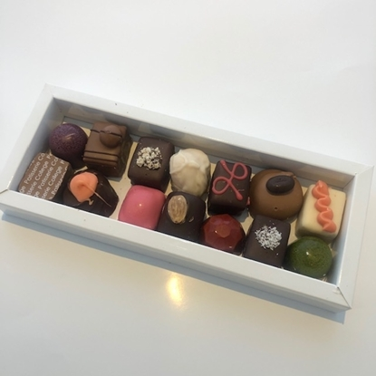 Afbeeldingen van doos bonbons